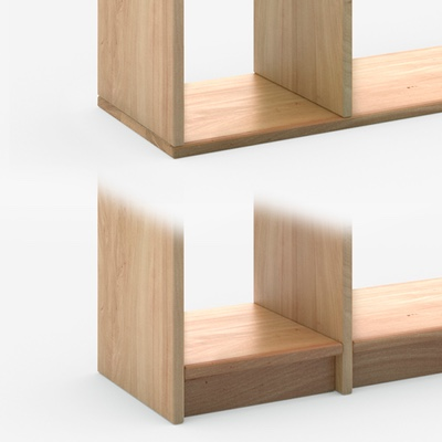 Shelf Configurator - Shelves made to measure in solid wood