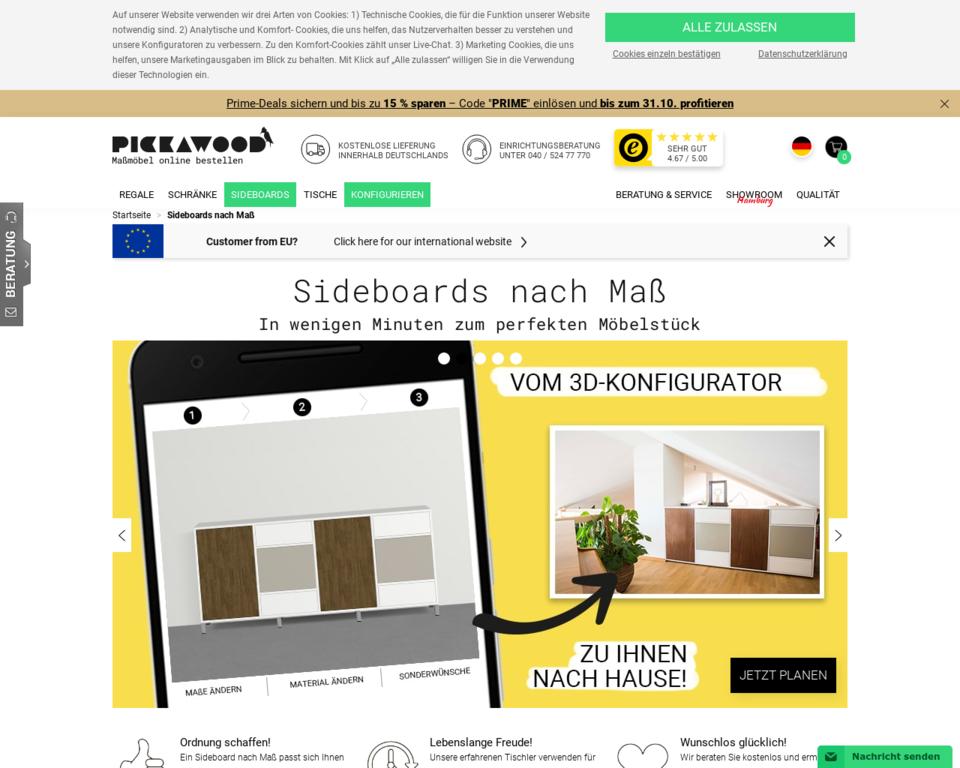 sideboard nach ma sideboards konfigurieren und gestalten. Black Bedroom Furniture Sets. Home Design Ideas