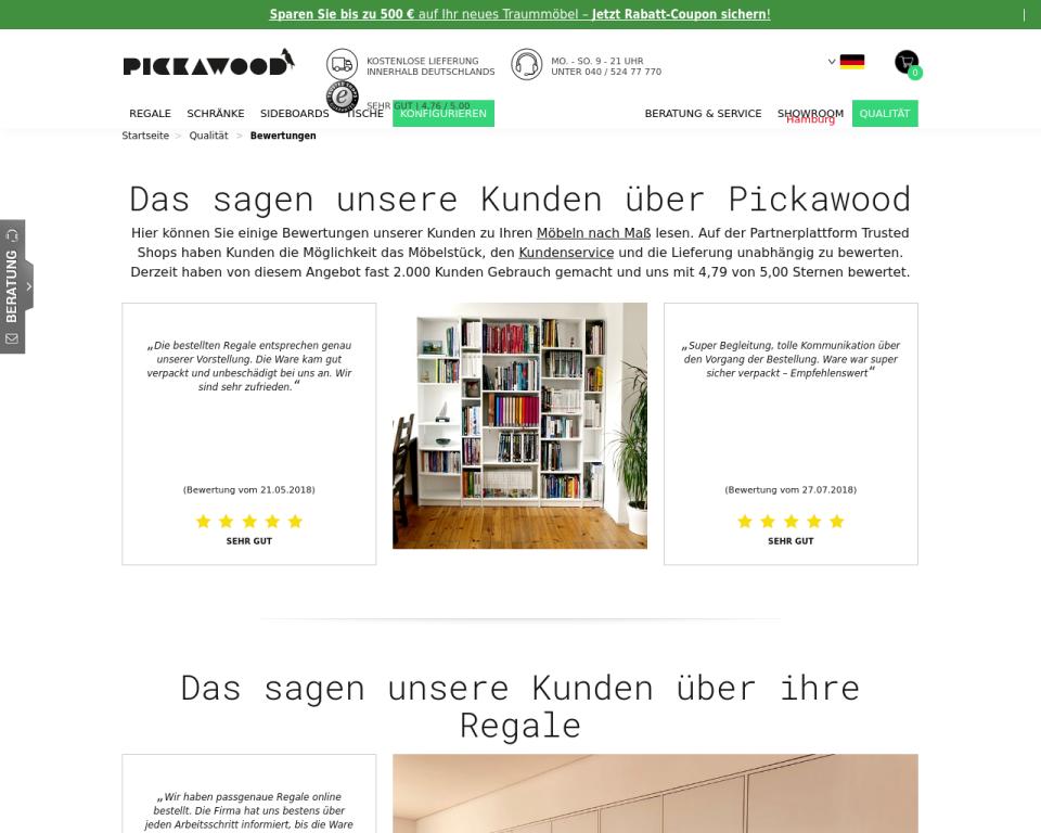 Pickawood Erfahrungen Und Bewertungen Zu Unseren Produkten