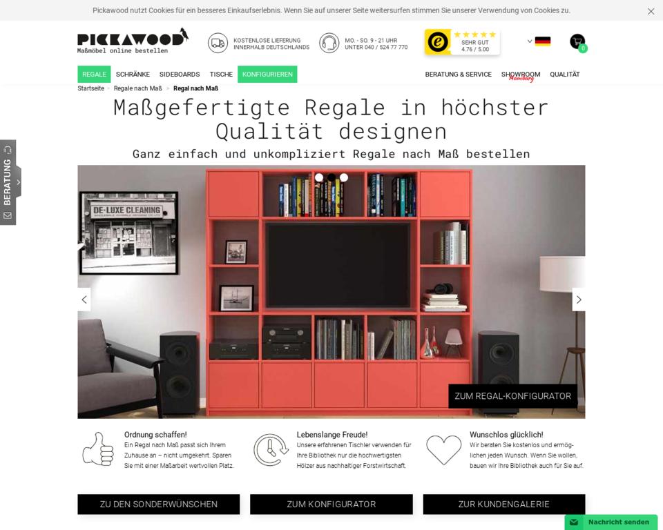 regal nach ma g nstig designen 11 massivholzarten 250 ral t ne. Black Bedroom Furniture Sets. Home Design Ideas